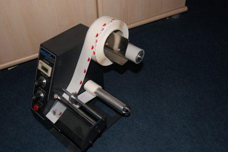 Autómata öntapadó fólia korong adagoló gép