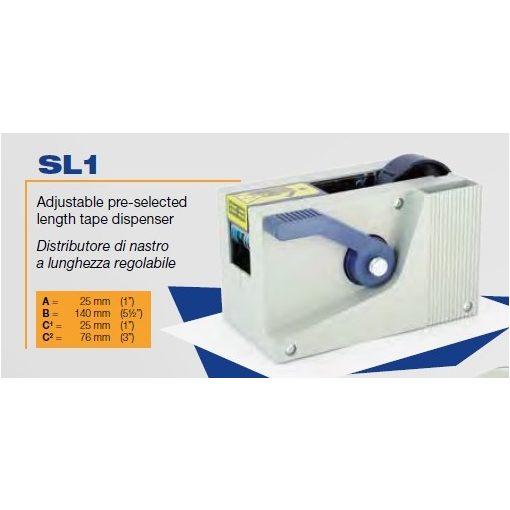 SL-1 Asztali félautomata adagoló és vágó gép.