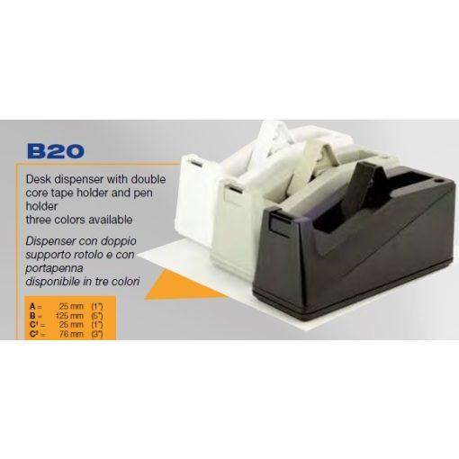 B 20 asztali adagoló
