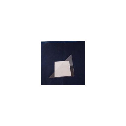 öntapadós műanyag háromszög tasak 10 x 10 mm  50db/csomag