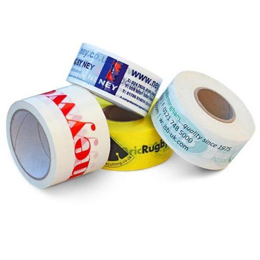 1 színnel nyomtatott Solvent csomagoló szalag 50mmx66m