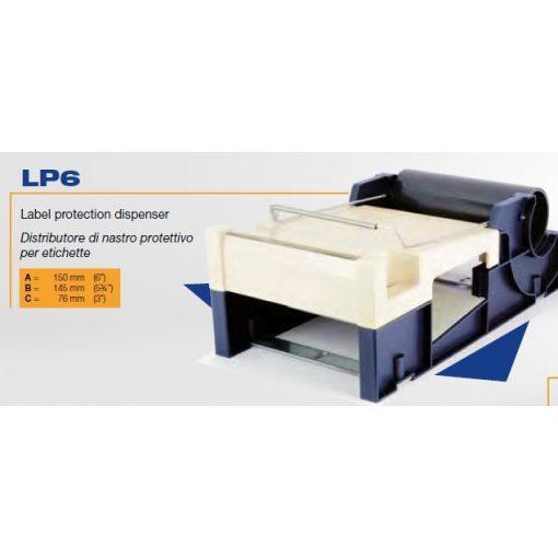LP-6 Cimke adagoló gép