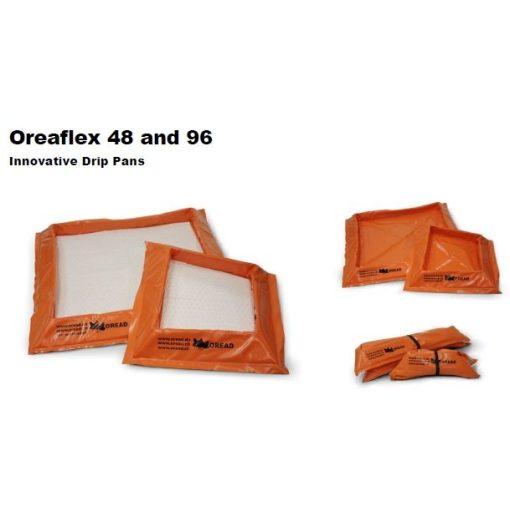 Többször használható flexibilis falú ,folyadék gyűjtő nagy tálca